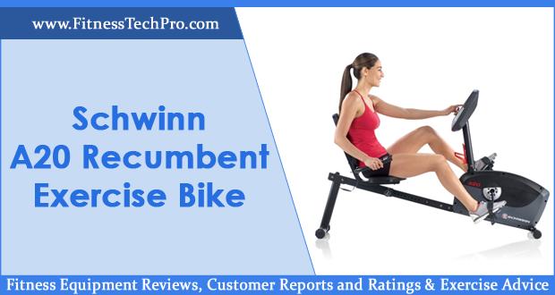 Schwinn A20 Recumbent Exercise Bike
