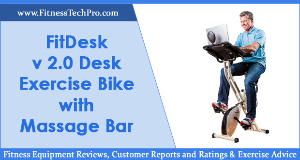 FitDesk v 2.0 Desk Exercise Bike Review