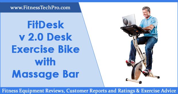 FitDesk v 2.0 Desk Exercise Bike Review