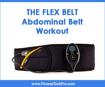 Flex belt abdominal toning belt