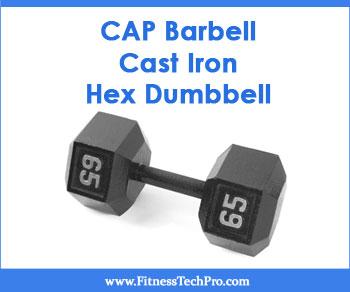 CAP Barbell Cast Iron Hex Dumbbell