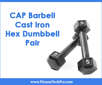 CAP Barbell Cast Iron Hex Dumbbell Pair