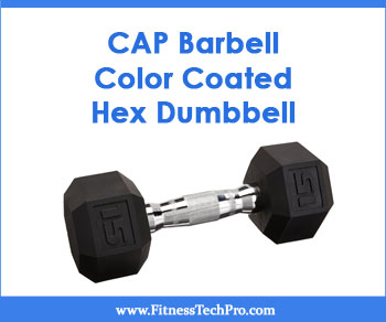 CAP Barbell Color Coated Hex Dumbbell