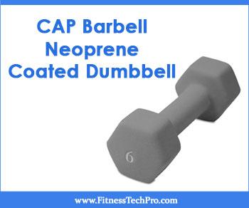 CAP Barbell Neoprene Coated Dumbbell