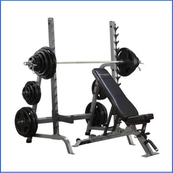 Body Solid SDIB370 Bench Rack Combo
