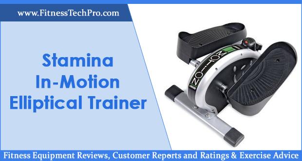 Stamina In-Motion E1000 Elliptical Trainer