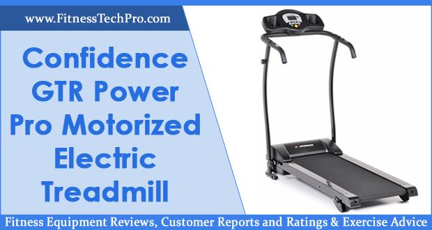 Confidence GTR Power Pro Motorized Electric Treadmill