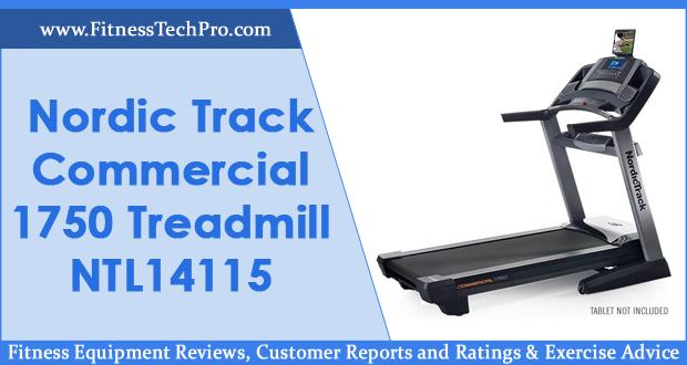 Nordic Track Commercial 1750 Treadmill NTL14115