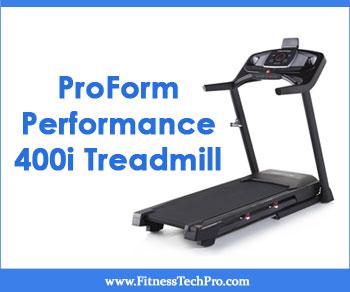 ProForm Performance 400i Treadmill