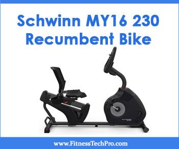 Schwinn MY16 230 Recumbent Bike
