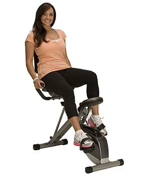 exerpeutic 400xl folding exercise bike