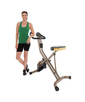 Exerpeutic gold 500 xls folding exercise bike