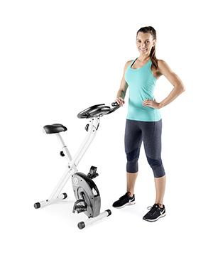 Marcy folding exercise bike