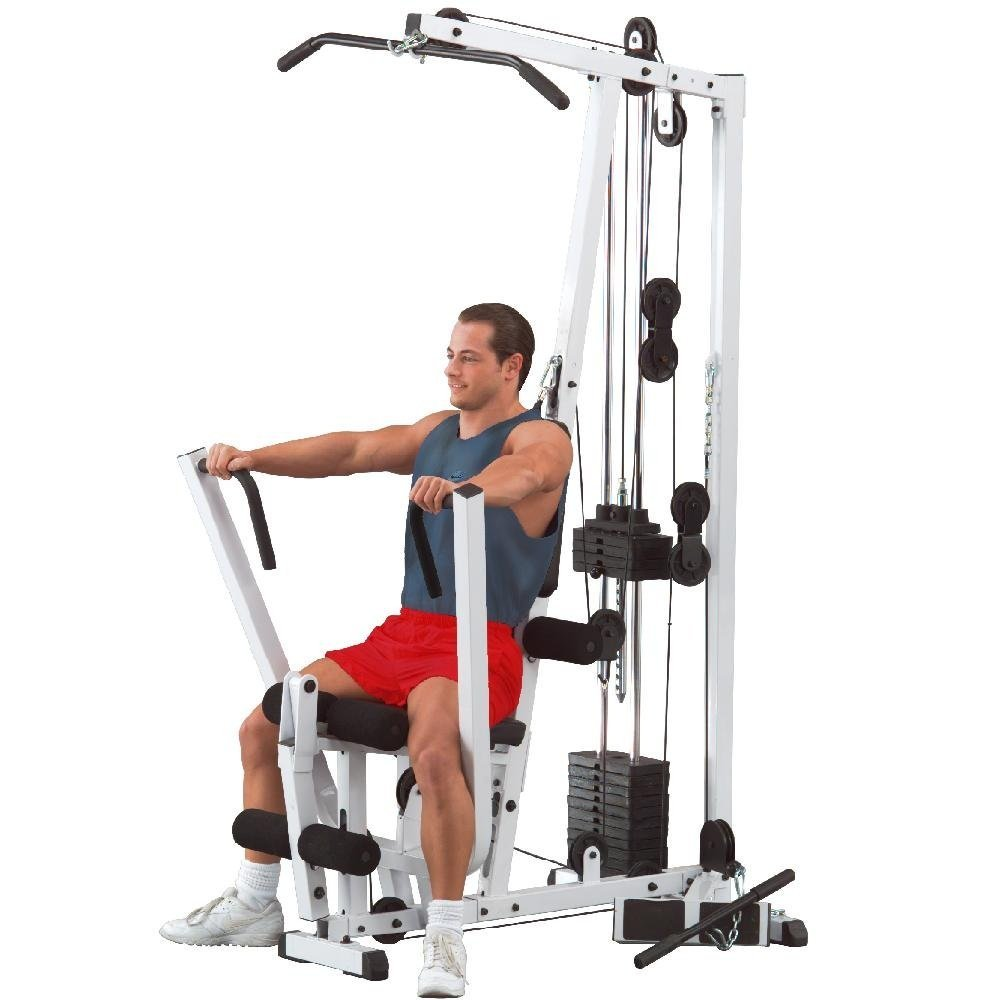 Body-Solid EXM1500S Home Gym in use Body-Solid EXM1500S Home Gym Review