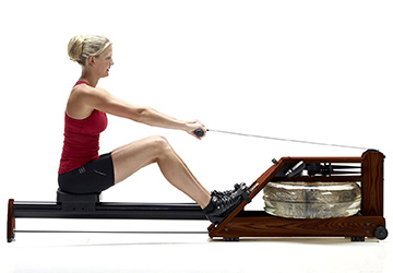 water rower exercise machine
