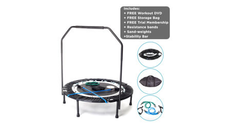 MaXimus Pro Mini Trampoline Best Trampolines