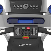 life fitness t5 buttons