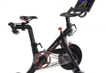 Black peloton bike